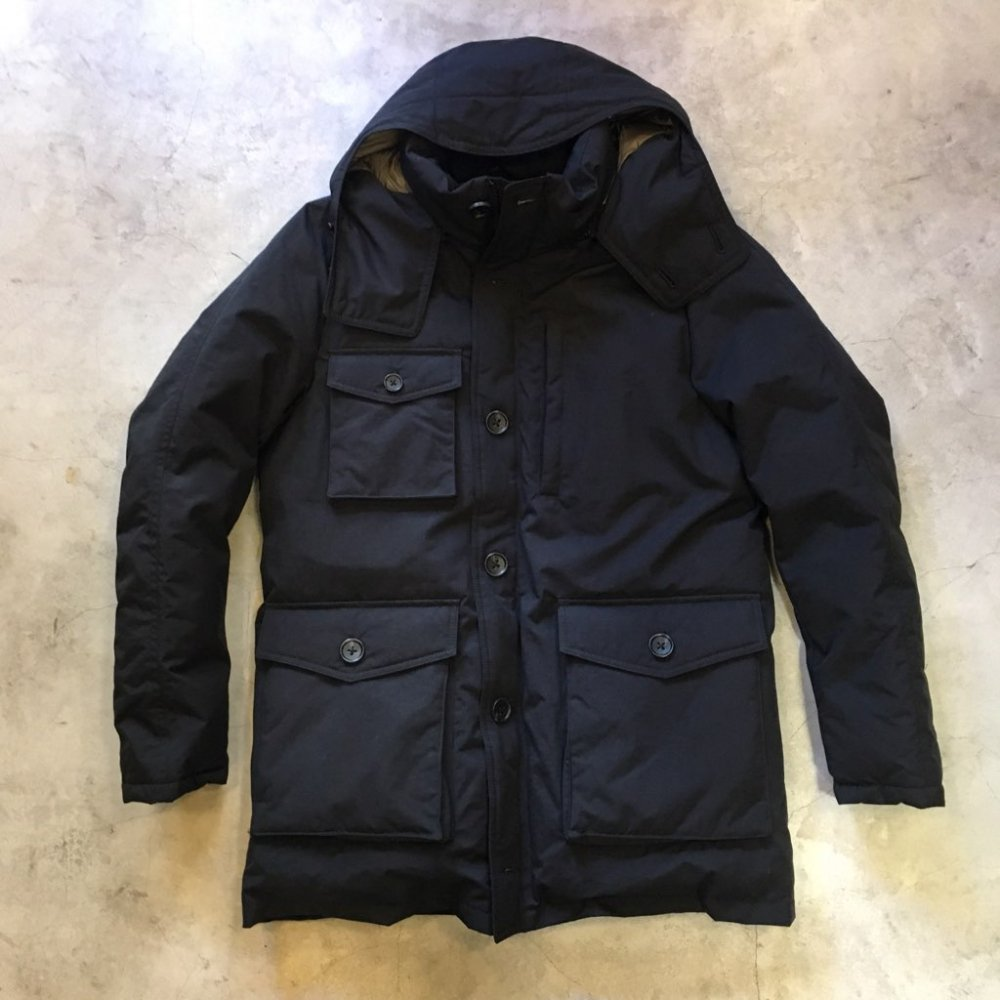 "ZANTER      ""DOWN PARKA"" WP-H     BLACK"
