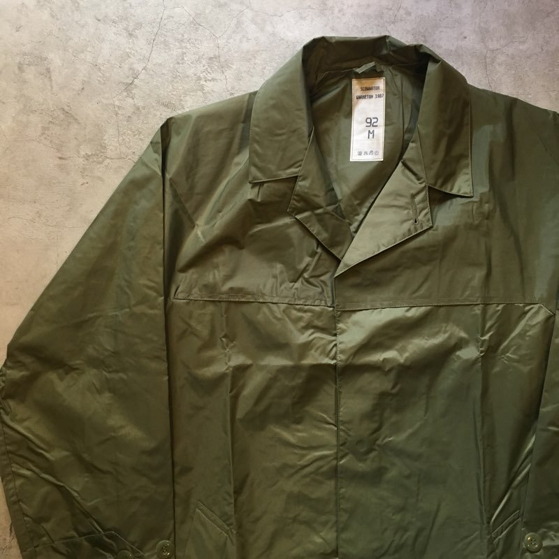 "N.O.S. 1987's FRENCH ARMY     ""RAIN COAT"