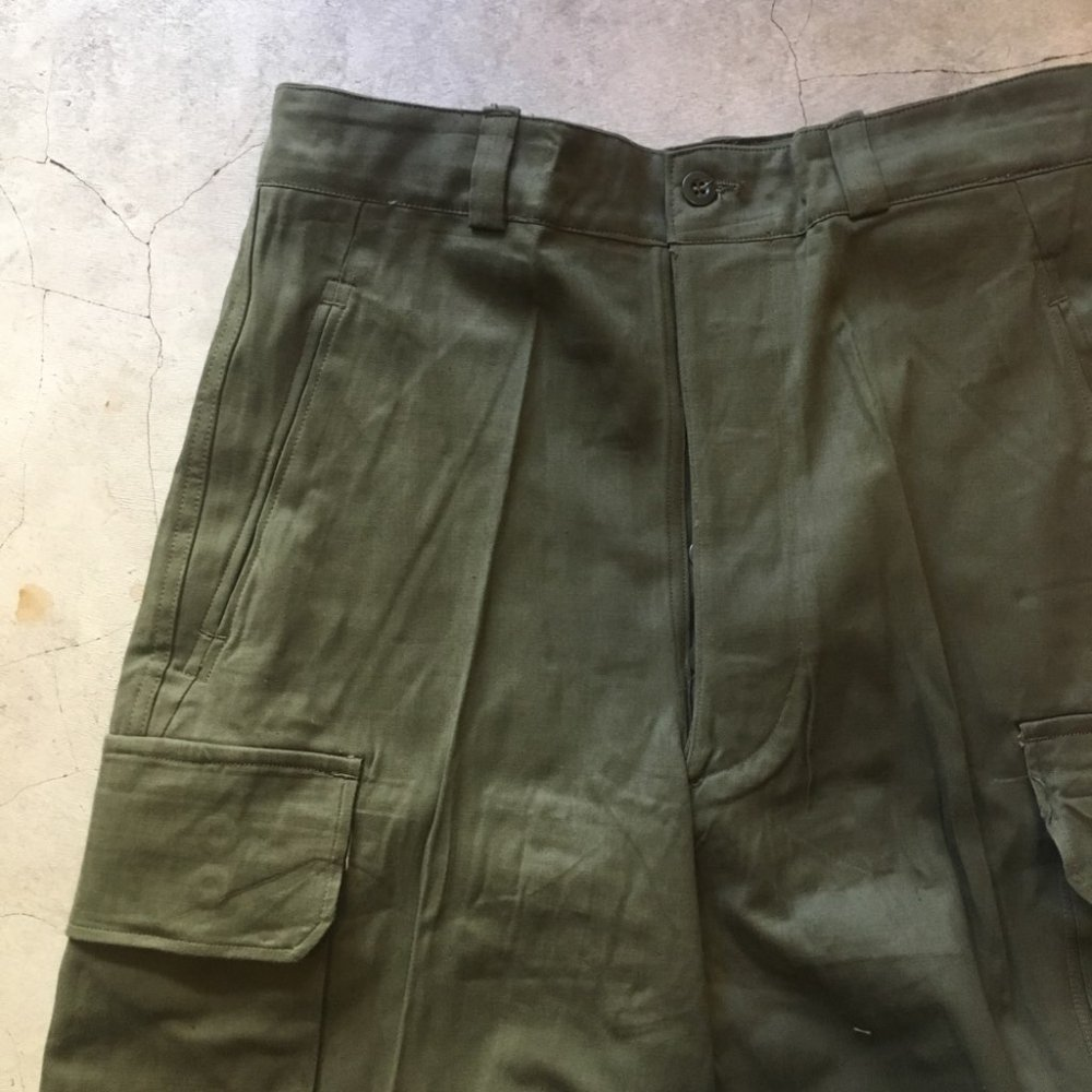 "N.O.S.  1960's French Army     ""M-47 Cargo""    SIZE 23"