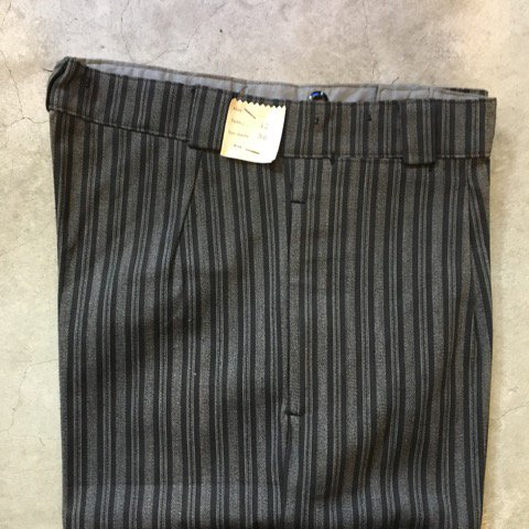 "N.O.S. 1940's    ""FRENCH STRIPE PANTS"""