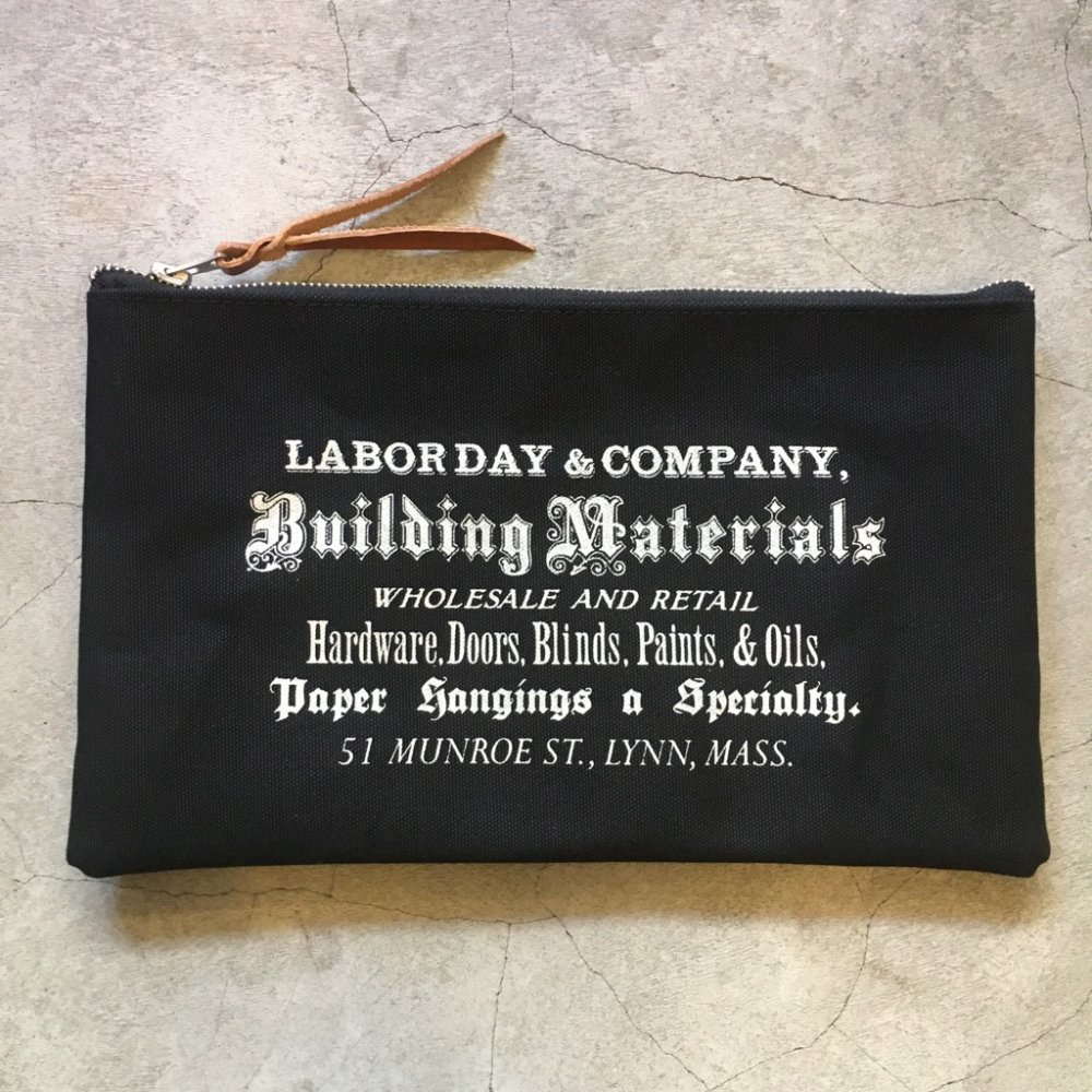 "LABOR DAY LD 2003    ""Flat Tool Pouch""    BLACK"