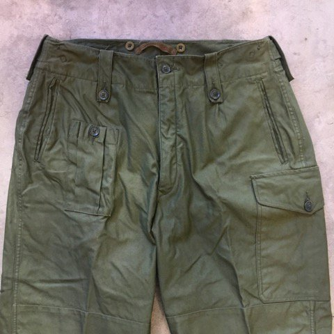 "N.O.S.   British Army   ""Combat Pants 1960Pattern""   SIZE 3"