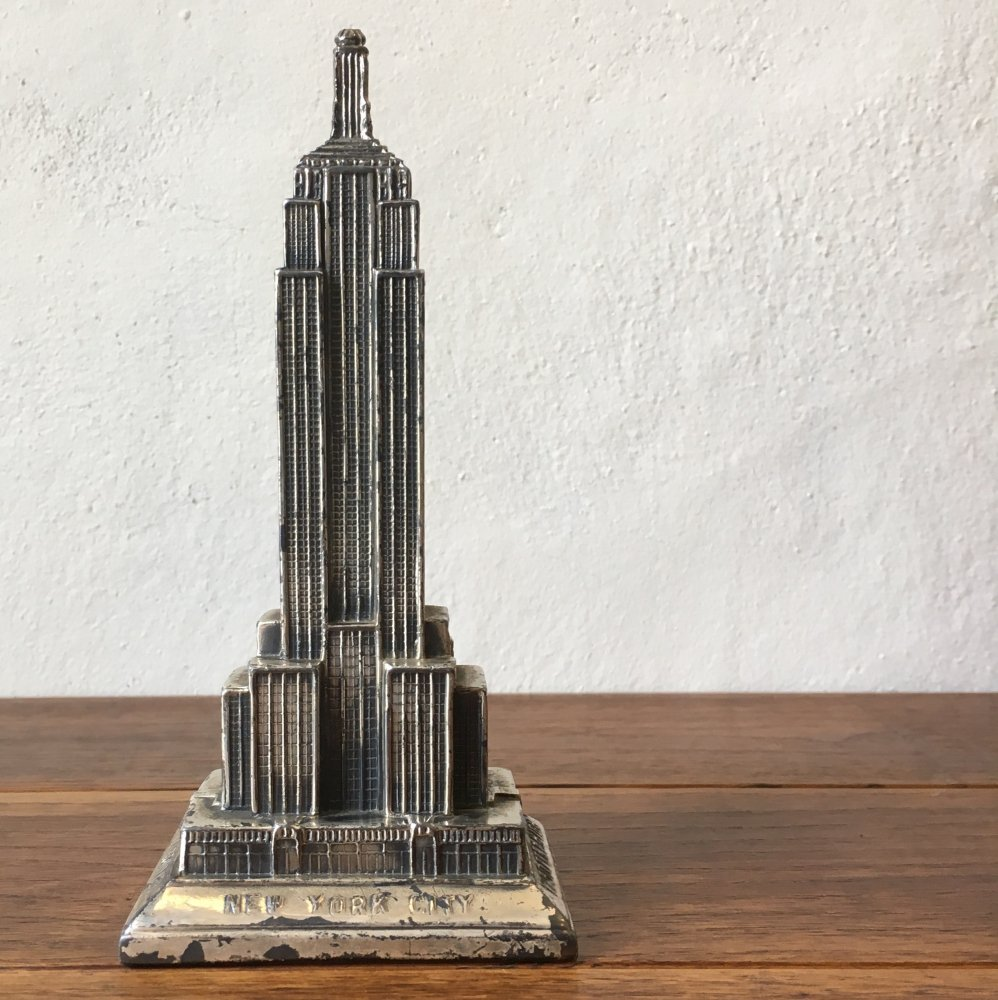 "ANTIQUE 〜1950's    ""EMPIRE STATE BUILDING"
