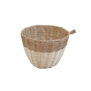 numero74 BASKET small  rattan natural