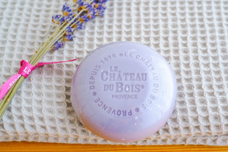 ピュアソープ(紫) 100g