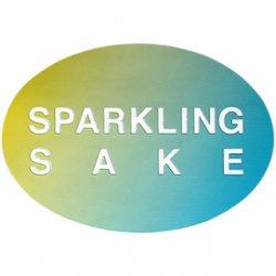 SPARKLING SAKEシール【グリーン】【1,000枚】