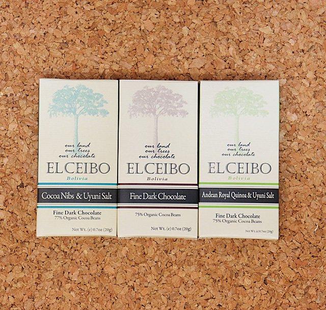 EL CEIBO Bolivia チョコレートセット (20g/80g) 3枚