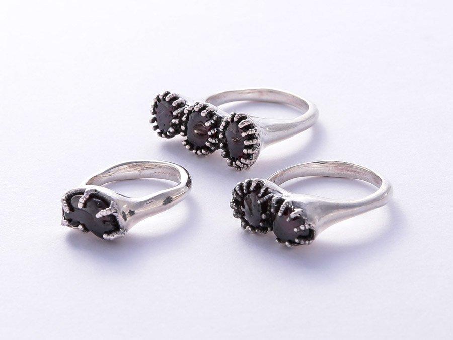 Garnet Ring Set