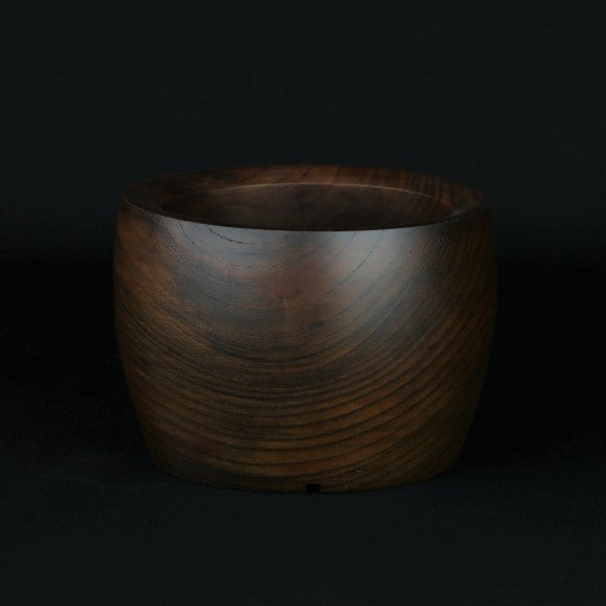 -Wood Pot- (no.6)