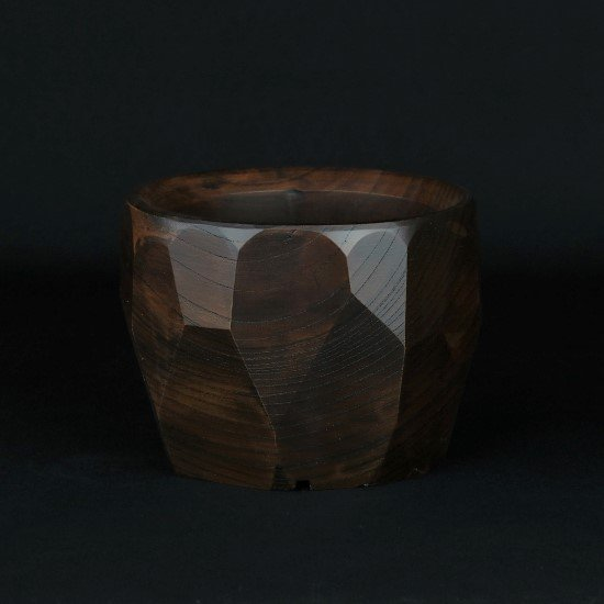 -Wood Pot- (no.7)