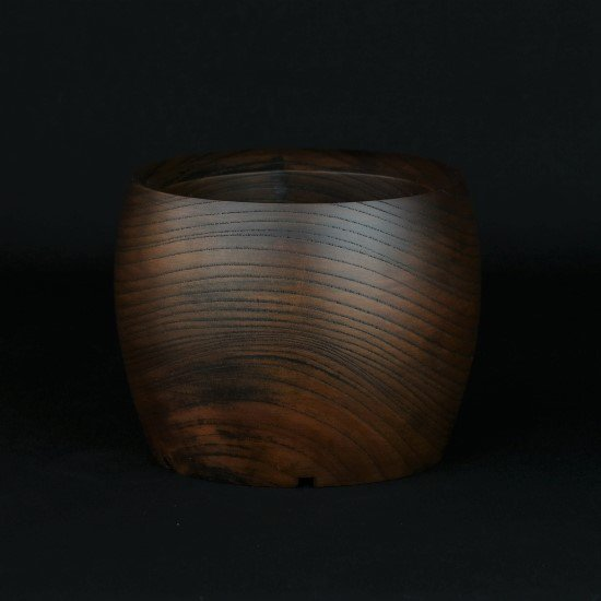 -Wood Pot- (no.8)