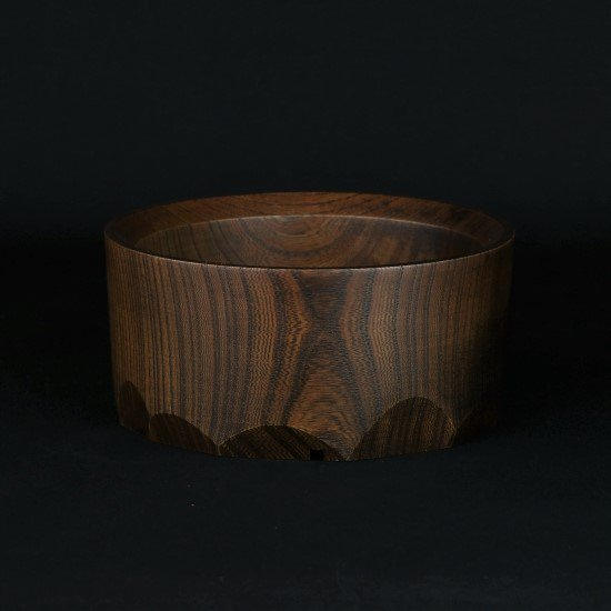 -Wood Pot- (no.9)