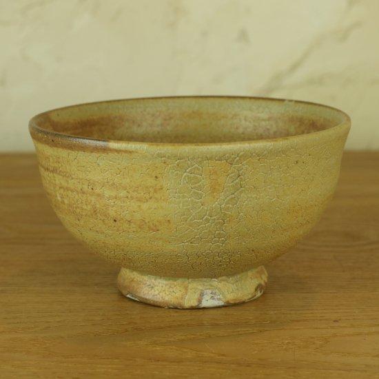 Masato Akutsu -crack ocher bowl-