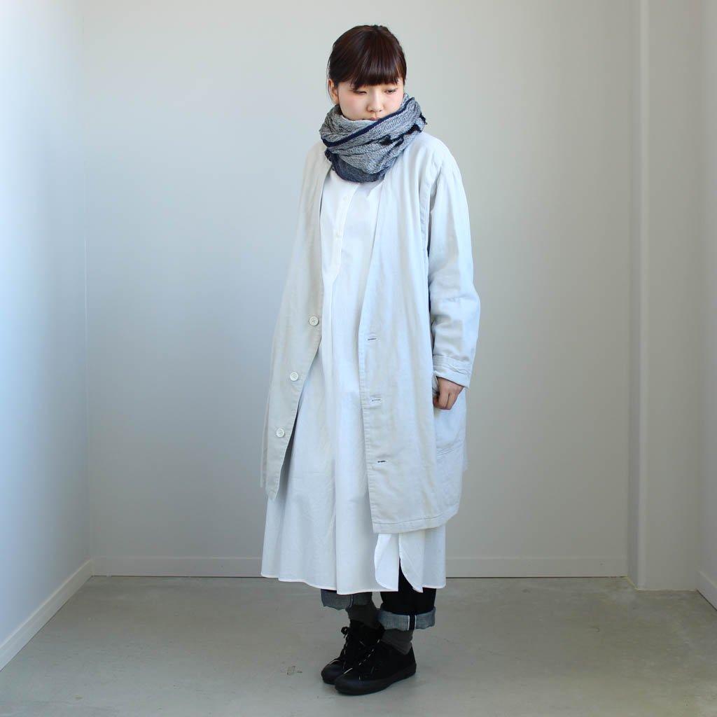 伊勢木綿のコート #l.gray