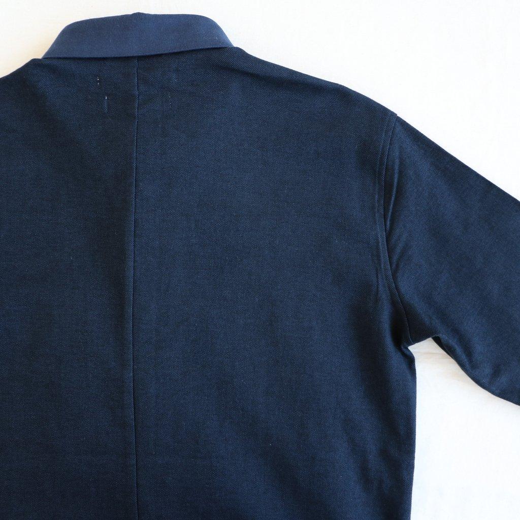 伊勢木綿のDr.Shirt #navy