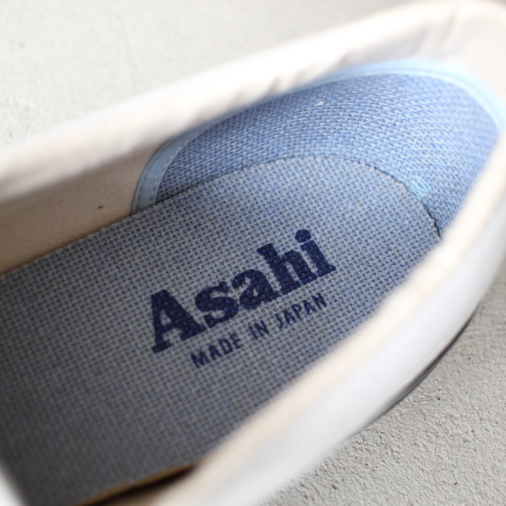 Select - Shoes | 靴 ASAHI DECK SLIP-ON #white