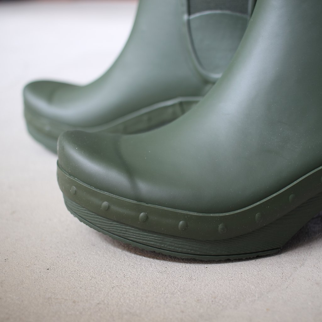 Select - Shoes | 靴 ROSA Rubber #green