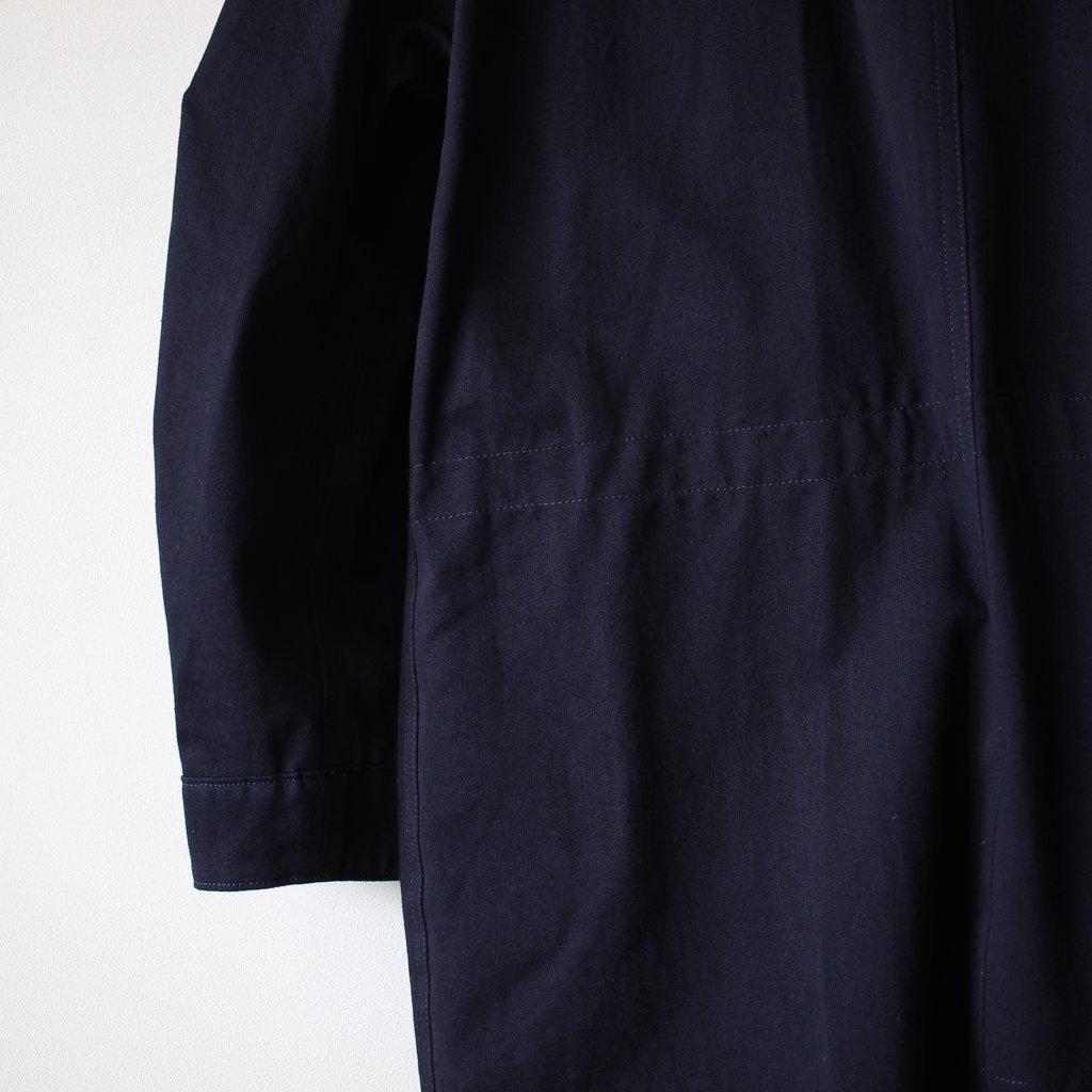 BLUE BLUE JAPAN | ブルーブルージャパン インディゴ41カーキ フィッシュテールコート #indigo