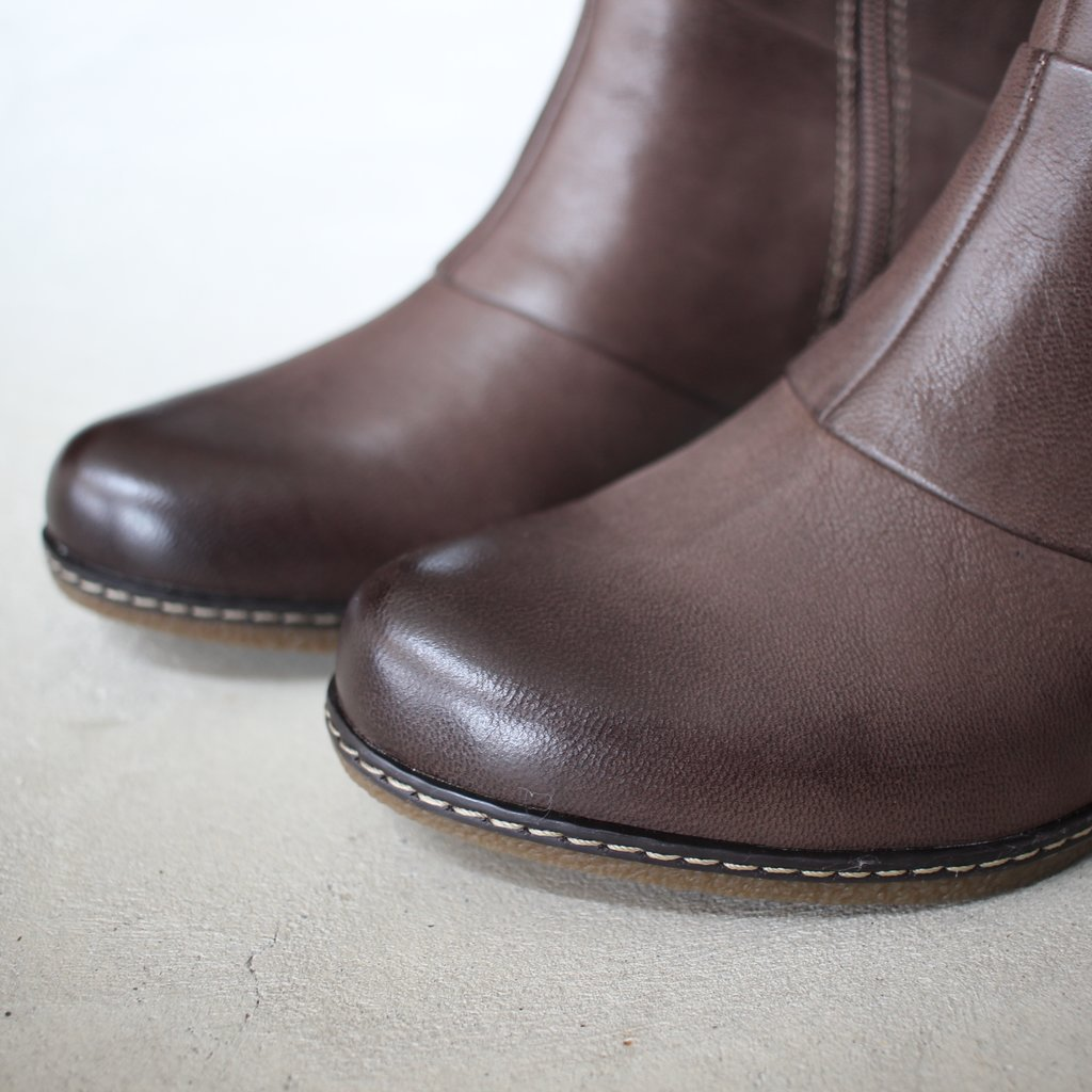 Select - Shoes | 靴 LETTIE Burnished Nubuck #teak