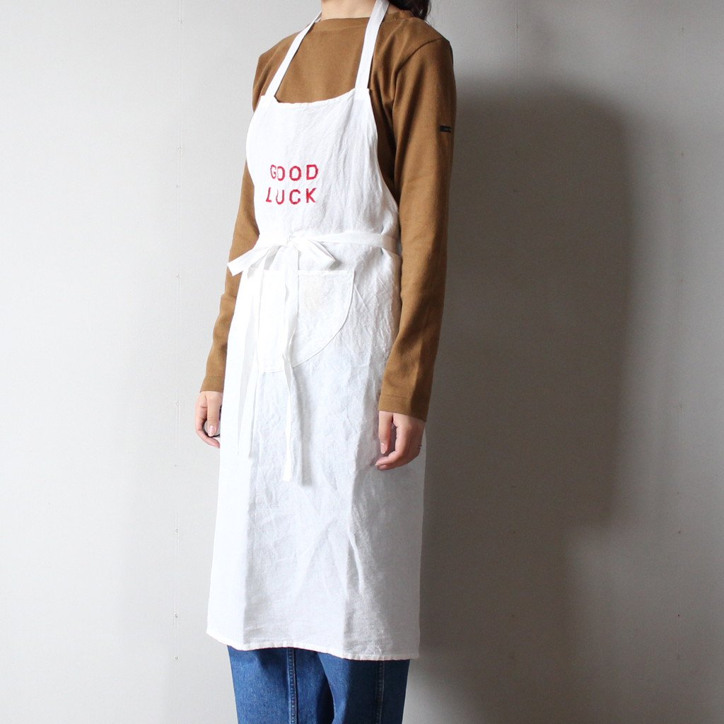 R&D.M.Co- OLDMAN'S TAILOR | オールドマンズテーラー GOOD LUCK APRON #red