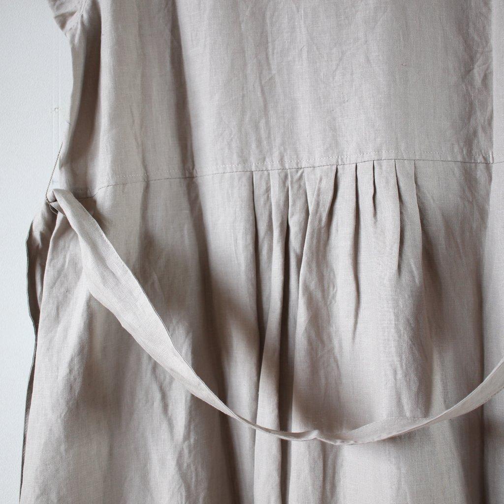 an one | アンワン ラップドレス #gray beige