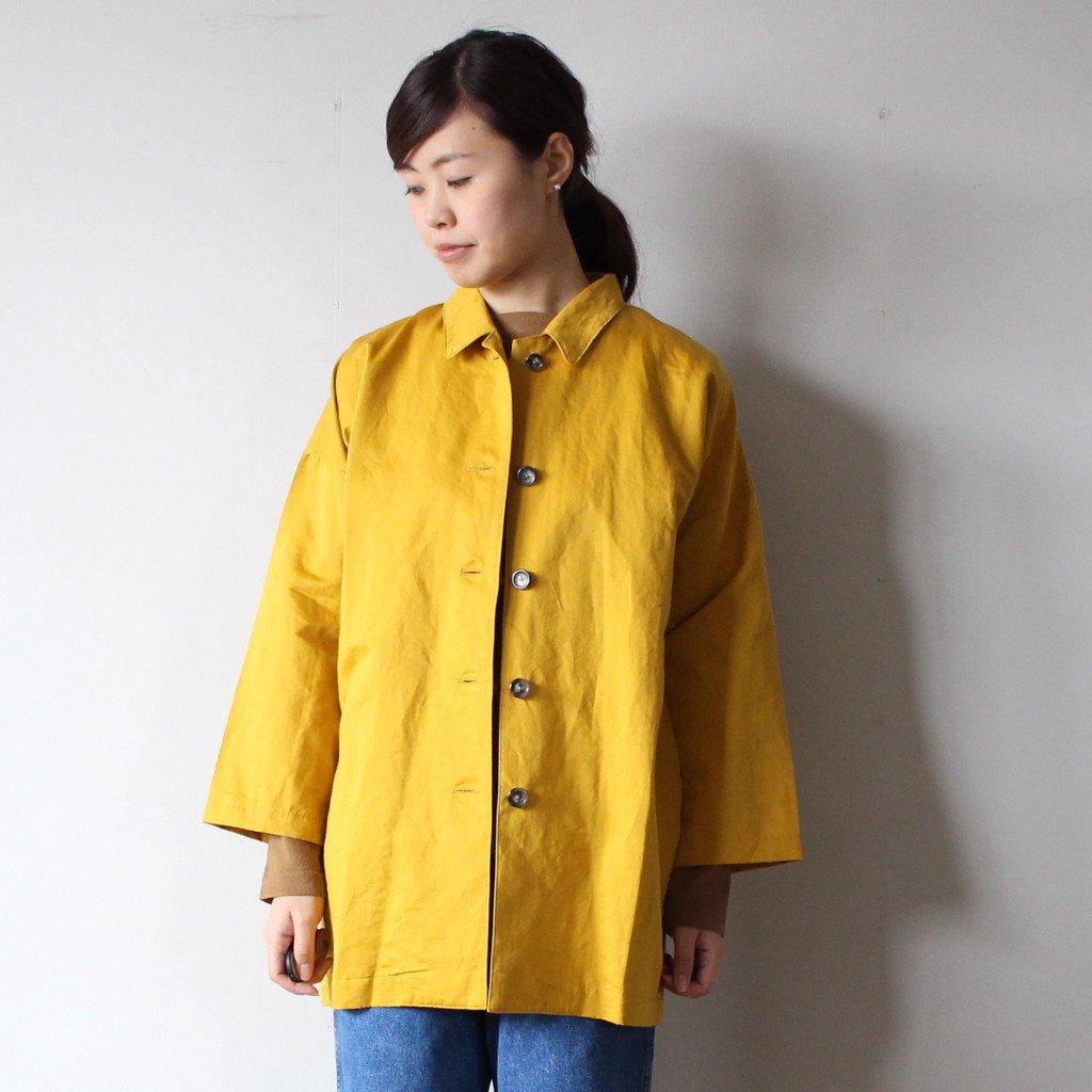 an one | アンワン ドクターコート ショート #mustard