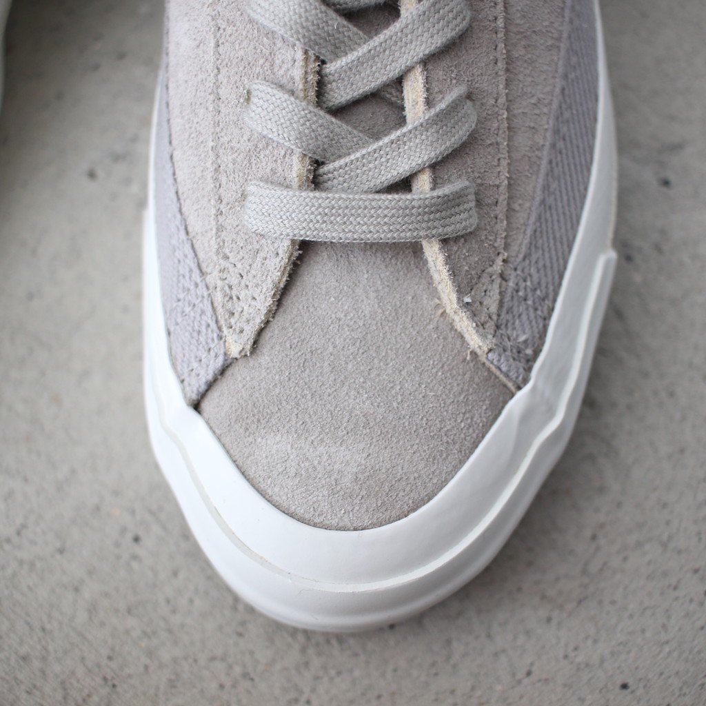 ASAHI BELTED LO SUEDE #gray