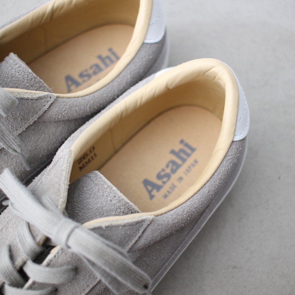 Select - Shoes | 靴 ASAHI BELTED LO SUEDE #gray