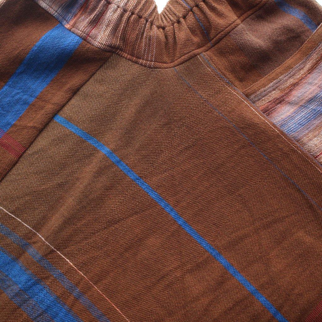tamaki niime | 玉木新雌 chotan skirt wool70% cotton30% #18a026