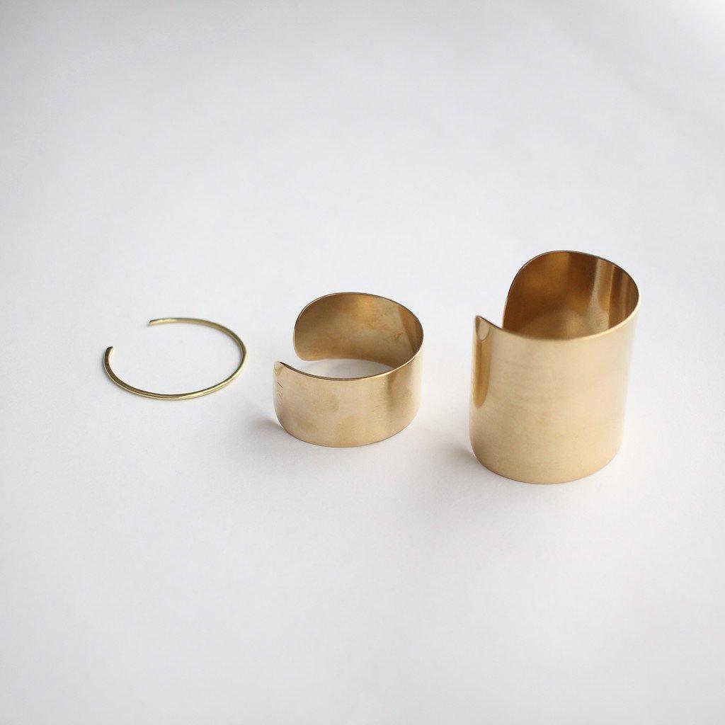 Select - Accessories | 服飾小物 真鍮バングル 極細 #brass