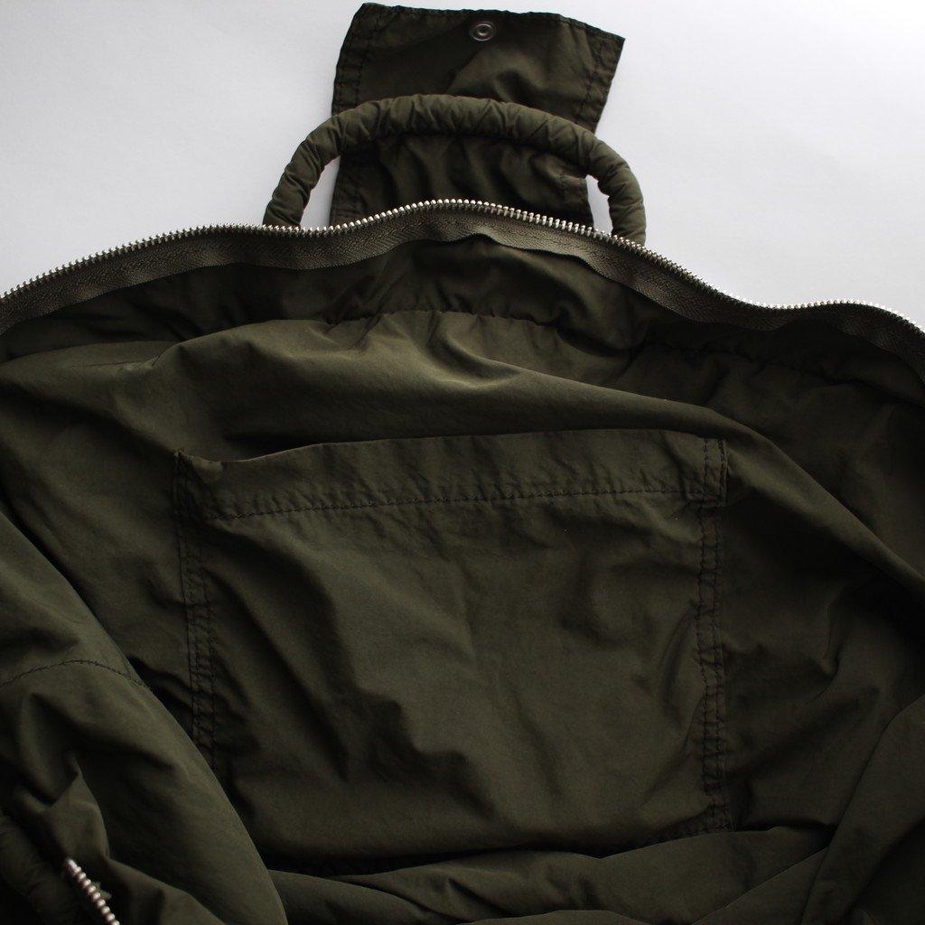 R&D.M.Co- OLDMAN'S TAILOR   オールドマンズテーラー GARMENT DYE MARCHE BAG #khaki