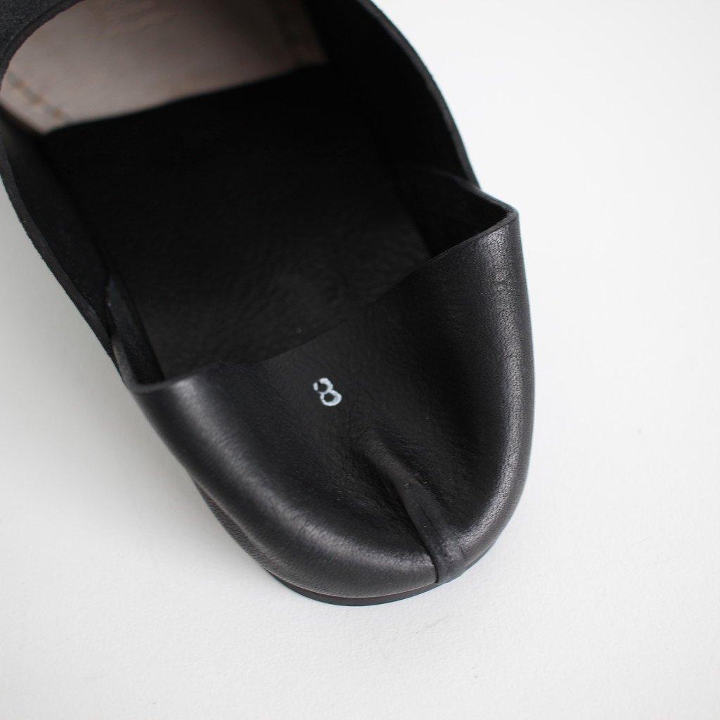 ROOM SHOES PIPPO #BLACK [AU-01-10]