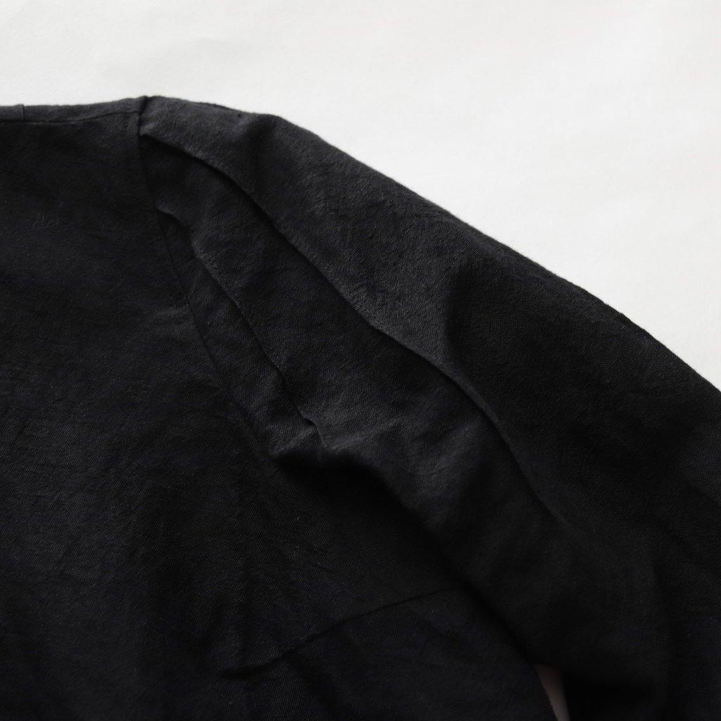 ブロッサムブラウス #BLACK [18-402]