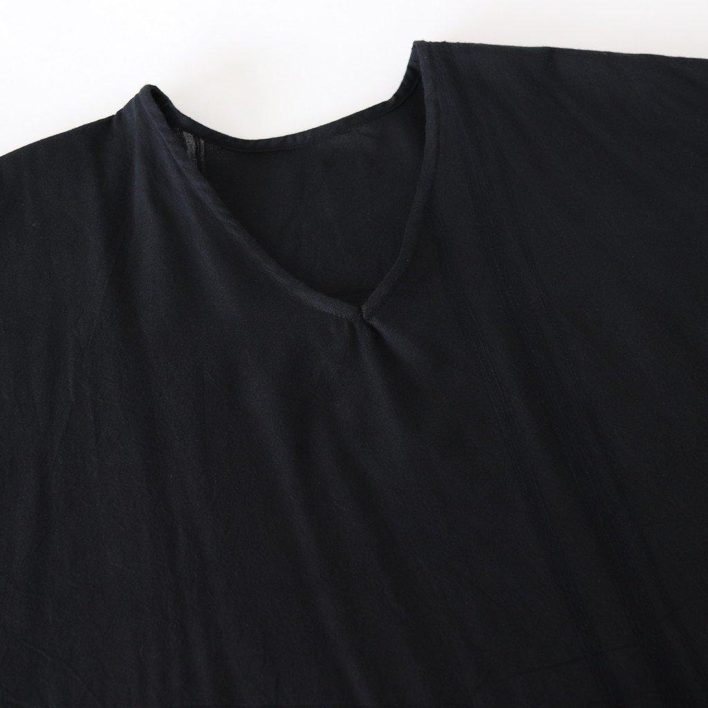 BASIC FUWA-T ALL COTTON100% #BLACK