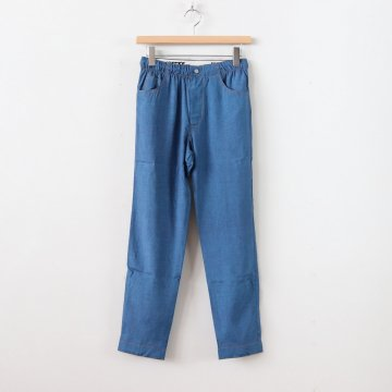 DUMMY DENIM EASY TAPERED PANTS #INDIGO [18SWPT01D-A]