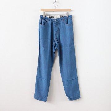 DUMMY DENIM EASY TAPERED PANTS #INDIGO [18SWPT01D]