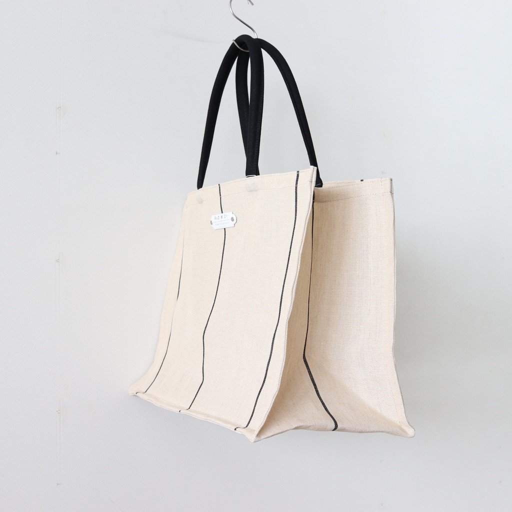 TRUCK LINEN SHOPPING BAG #BLACK [no.3012]