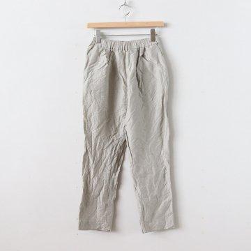 S/L 2 TUCK GOM PANTS #BEIGE [no.2997]