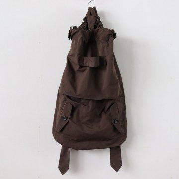GARMENT DYE DAY BAG #brown