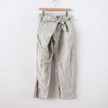 S/L TIE PANTS #BEIGE [no.2992]