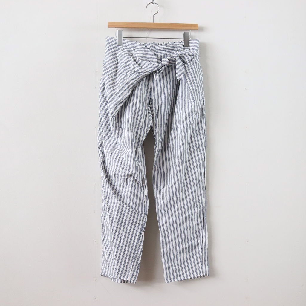 S/L TIE PANTS #STRIPE [no.2992]
