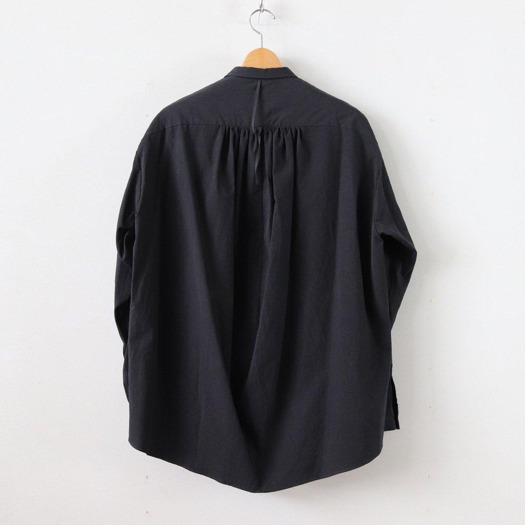 ヘムレンシャツ MM #GREENISH BLACK [18-358]
