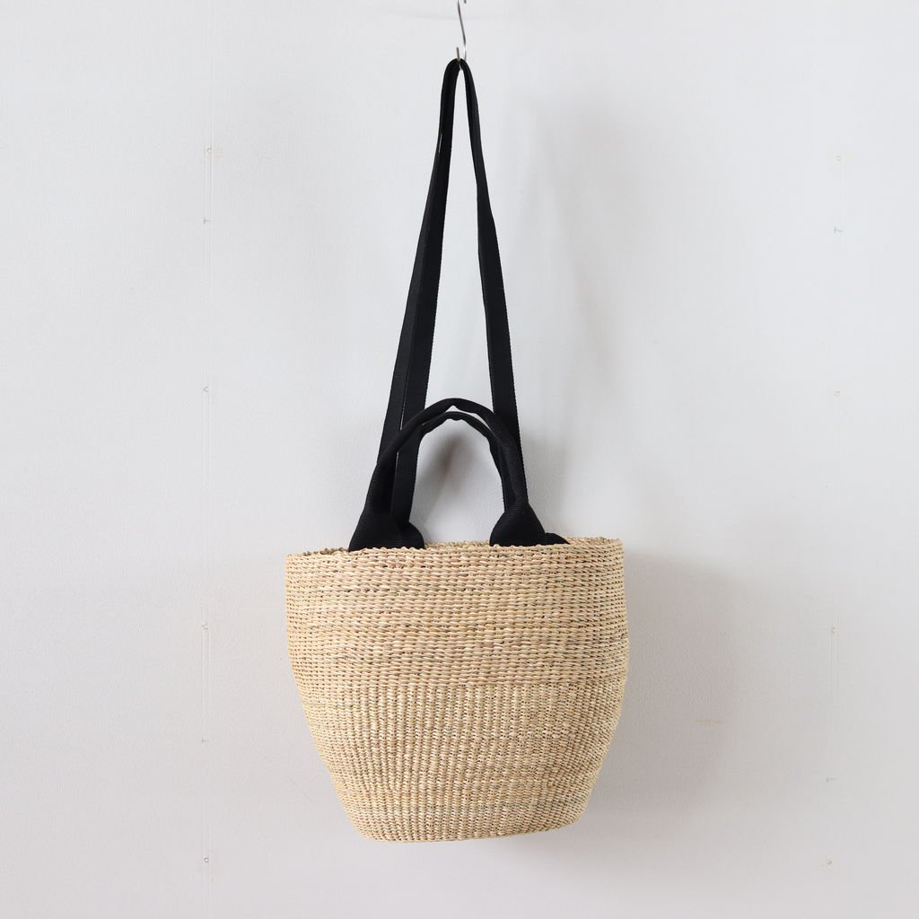 MINHO SMALL BASKET #NATURAL [D057181BB010]