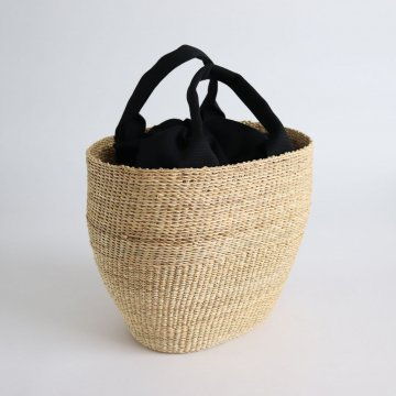 MINHO SMALL BASKET #NATURAL [D057181BB010] _ Muun | ムーニュ