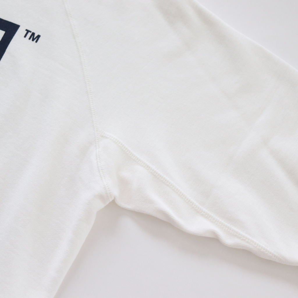 WEST'S CREW SWEAT #WHT/NVY [18AWCS01]