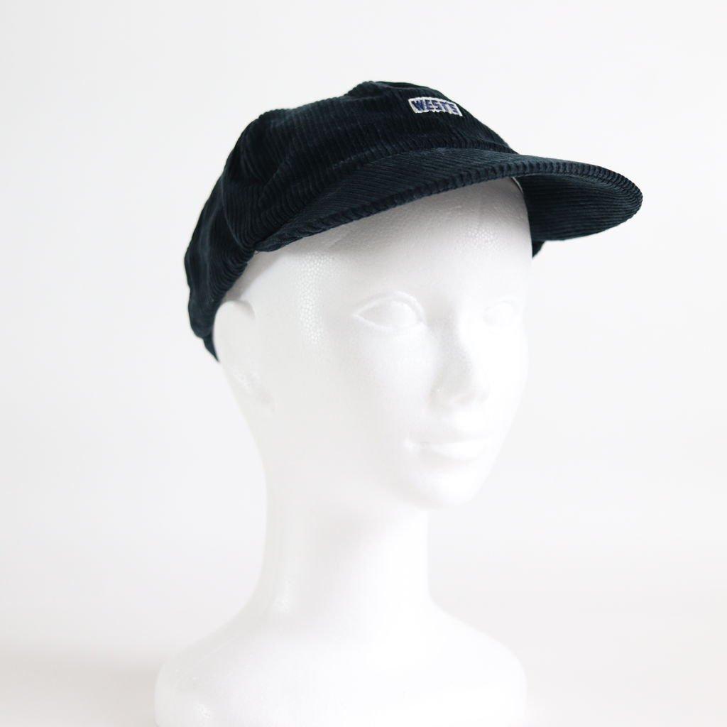 WEST'S CORDUROY CAP #NAVY [18AWCP01C]