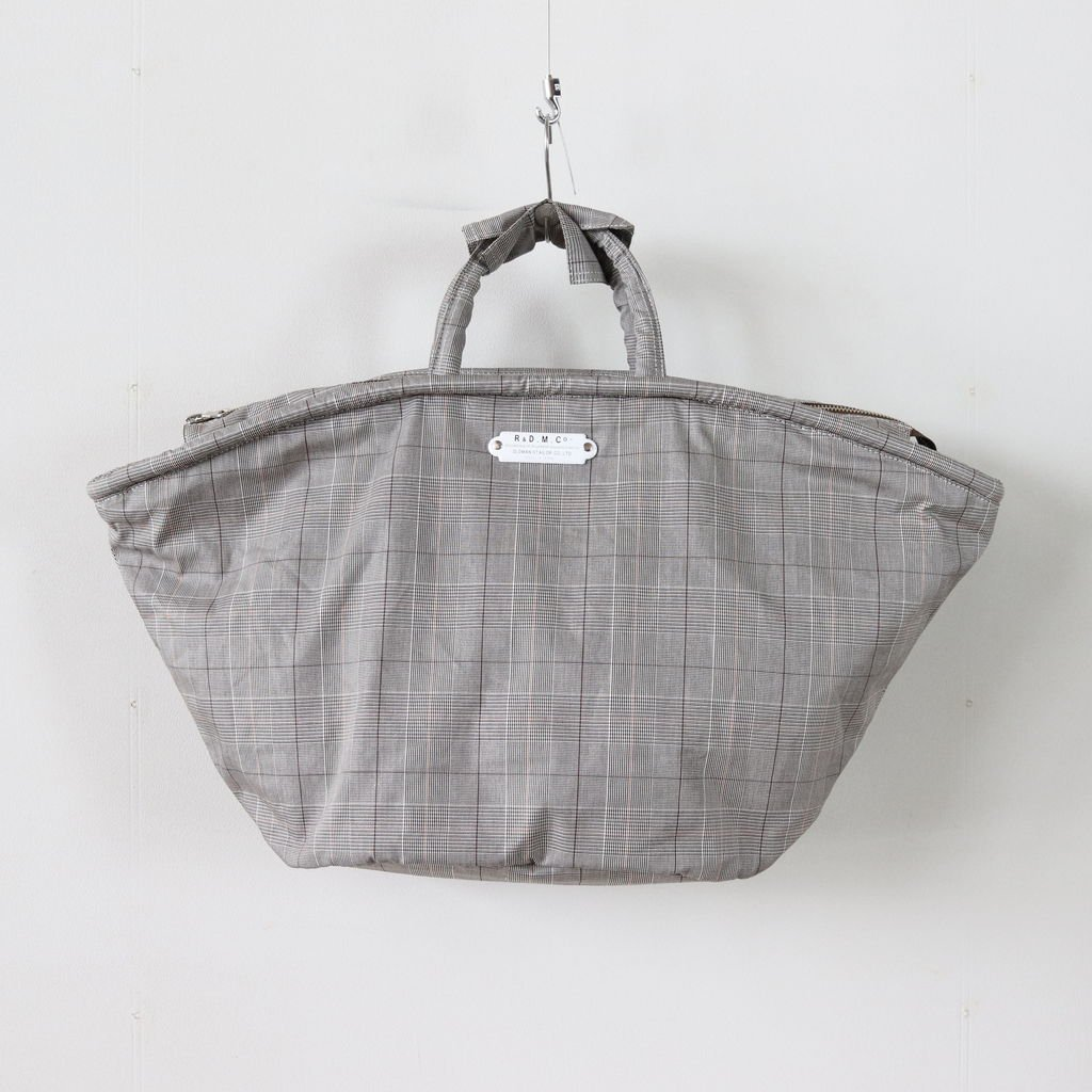 GLEN CHECK MARCHE BAG #GRAY [no.3227]