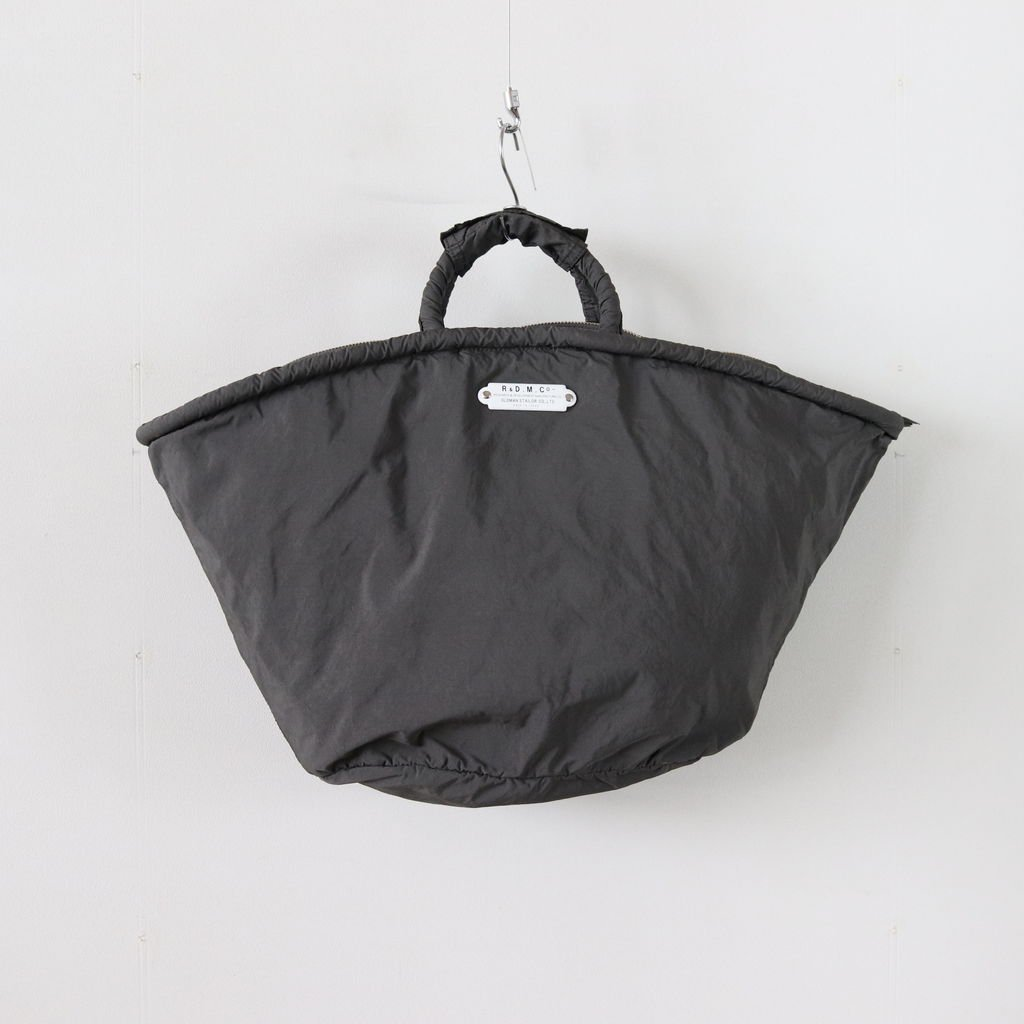 GARMENT DYE MARCHE BAG #CHARCOAL [no.3365]