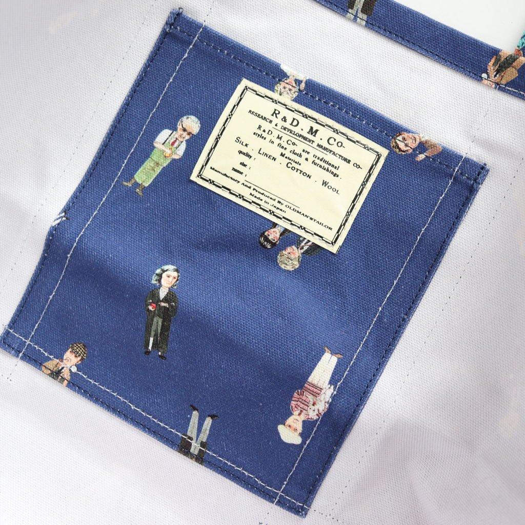 GREATMANS TOTE BAG L #NAVY [no.3437]