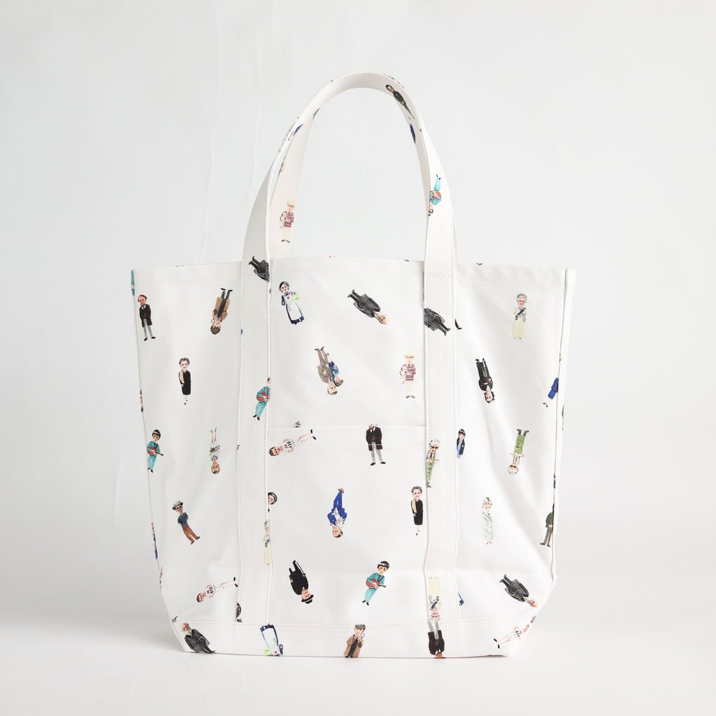 GREATMANS TOTE BAG TALL #OFF WHITE [no.3439]